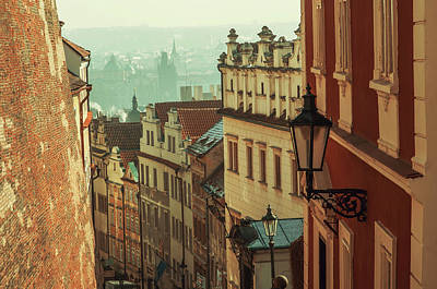 Photograph - Winter Morning In Prague. Lesser Town by Jenny Rainbow