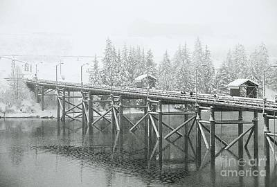 Winter Morning In The Pier Art Print