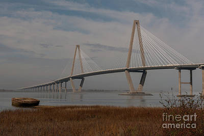 Clouds Royalty Free Images - Winter Morning Lowcountry Fog Royalty-Free Image by Dale Powell