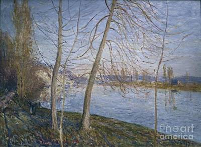 Veneux Painting - Winter Morning by MotionAge Designs