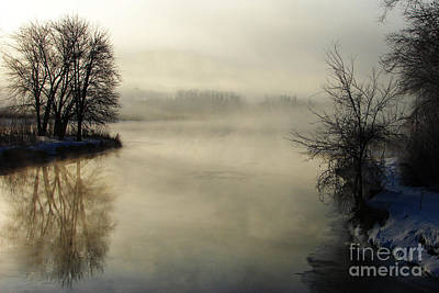 Wall Art - Photograph - Winter Morning On The Minnesota River by Tom Chamberlain