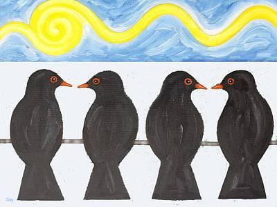 Winter Morning Art Print by Patrick J Murphy