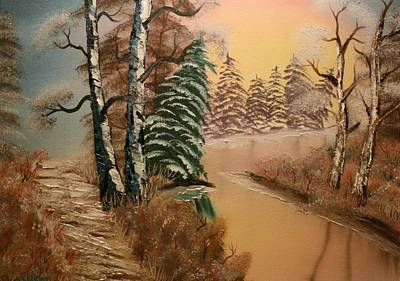 Painting - Winter Morning by Ralph Root