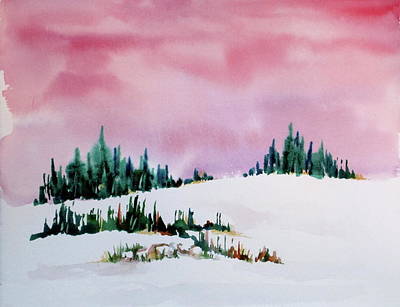 Painting - Winter Morning by Renee Goularte