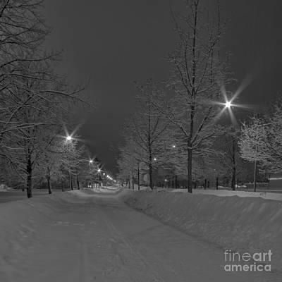 Winter Roads Photograph - Winter Morning by Veikko Suikkanen