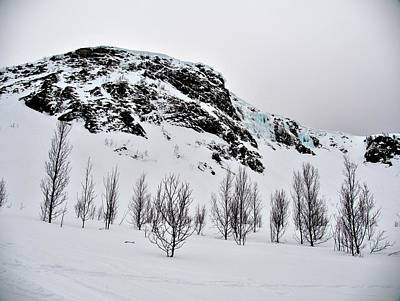 Photograph - Winter Mountains In Norway by Tamara Sushko