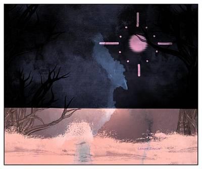 Fantasy Tree Mixed Media - Winter Mystery by Lenore Senior