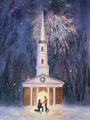 Painting - Winter Nights  by Carlin Blahnik