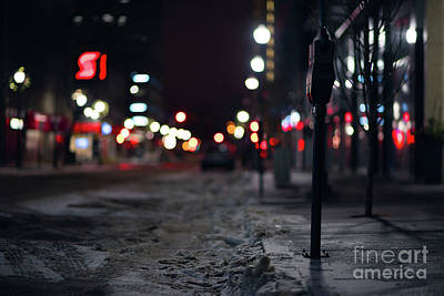 Winter Nights Art Print by Ian McGregor