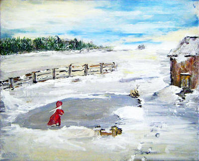 Painting - Winter Of Our Youth  by Colleen Ranney