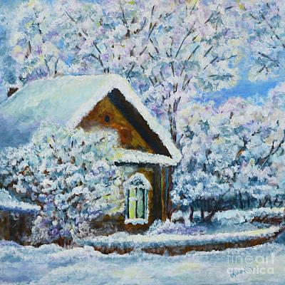 Painting - Winter by Olga Hamilton
