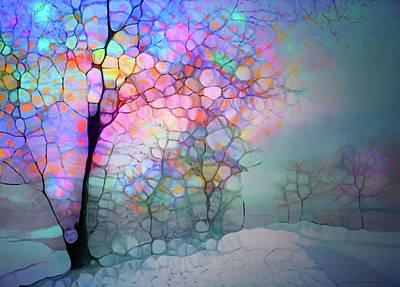 Digital Art - Winter On A Wednesday by Tara Turner