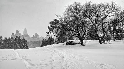 Photograph - Winter On Cedar Hill by Cornelis Verwaal