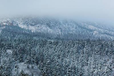 Photograph - Winter On Cheyenne Mountain by Steve Krull
