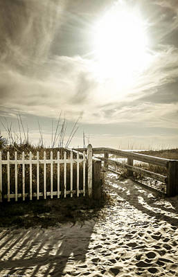 Photograph - Winter On Mexico Beach by Debra Forand
