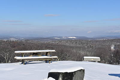 Photograph - Winter On Mohawk Mountain 1 by Nina Kindred