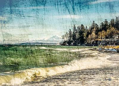 Photograph - Winter On Northbeach by William Wyckoff