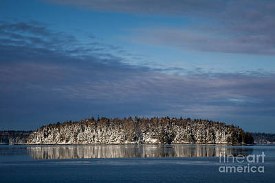 Photograph - Winter On Taunton Bay by Susan Cole Kelly