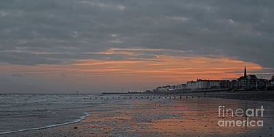 Photograph - Winter On The Beach by David  Hollingworth
