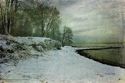 Photograph - Winter On The Beach by Randi Grace Nilsberg
