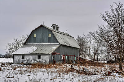 Photograph - Winter On The Farm 2 by Bonfire Photography