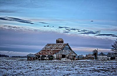 Photograph - Winter On The Farm by Bonfire Photography