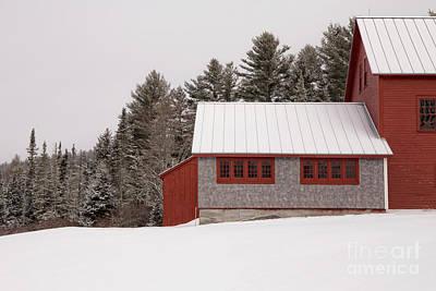 Photograph - Winter On The Farm by Edward Fielding