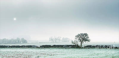 Winter On The Mendips Art Print