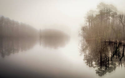 Photograph - Winter On The River by Van Sutherland