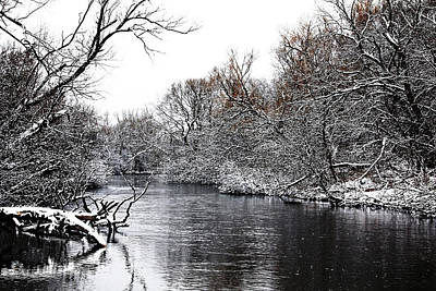 Photograph - Winter On The Speed River by Debbie Oppermann