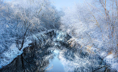 Photograph - Winter On The Tiffin River by Michael Arend