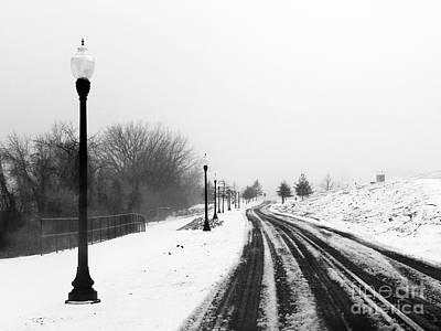 Photograph - Winter On Water Street - As4000002 by Daniel Dempster