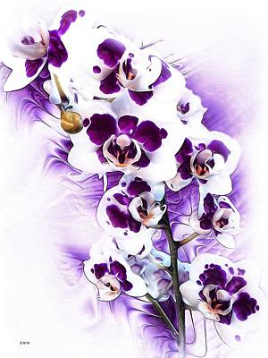 Winter Orchid Art Print