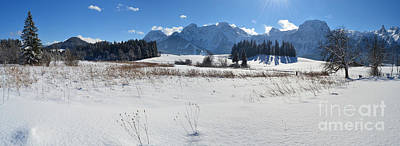 Photograph - Winter Panorama 2 by Sabine Jacobs