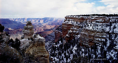 Photograph - Winter Panorama by Stephen Andersen