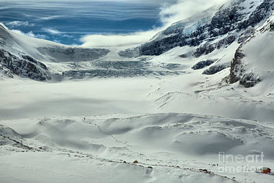 Photograph - Winter Paradise At The Columbia Icefield by Adam Jewell