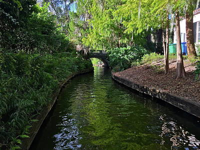 Photograph - Winter Park Scenic Canal by Denise Mazzocco