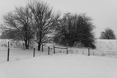 Photograph - Winter Pasture by Scott Kingery