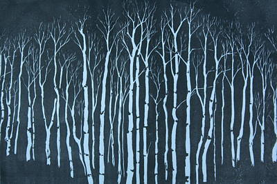 Winter Art Print by Pati Hays