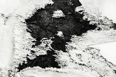 Photograph - Winter Patterns 7. Frozen Nature by Jenny Rainbow