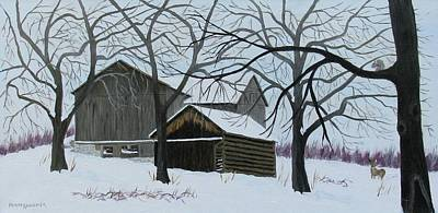 Painting - Winter Peace by Barb Pennypacker