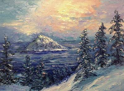 Painting - Winter Peace by Natascha de la Court