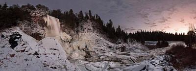 Winter Photographer Art Print by Jakub Sisak