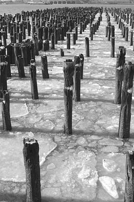 Photograph - Winter Piers by Henri Irizarri