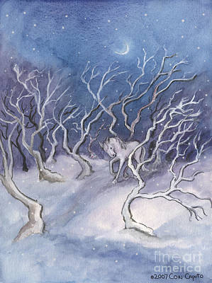 Painting - Winter Pony by Cori Caputo