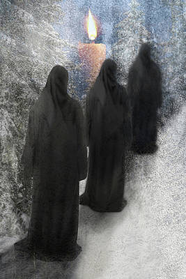 Digital Art - Winter Procession by Lisa Yount