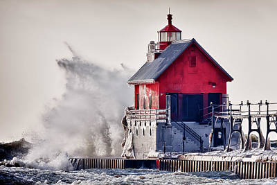 Jmp Photograph - Winter  Rage by James Marvin Phelps