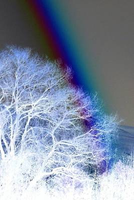 Photograph - Winter Rainbow by Frank Townsley