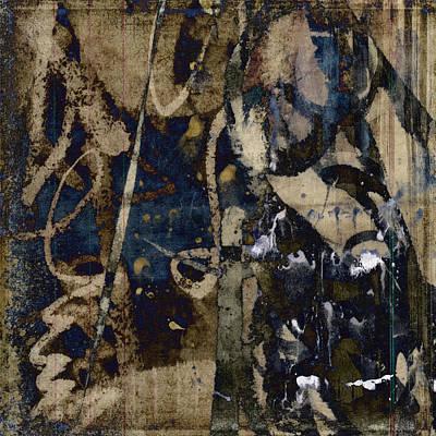 Winter Rains Series Four Of Six Art Print by Carol Leigh
