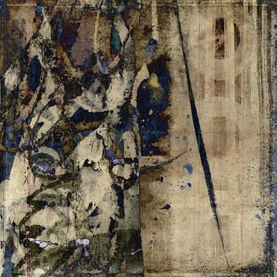 Winter Rains Series Six Of Six Art Print by Carol Leigh